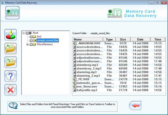 Unformat Memory Stick screen shot