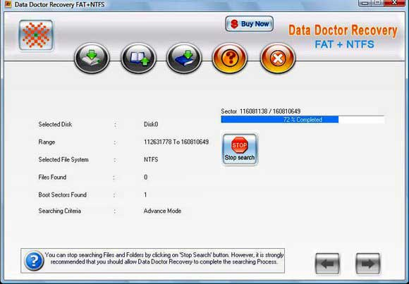 Recover lost data from formatted hard drive